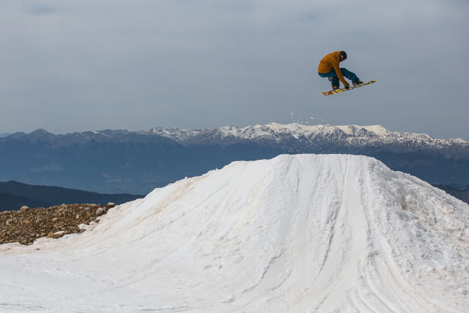 Snowboard Greece – Parnassos Leftovers…
