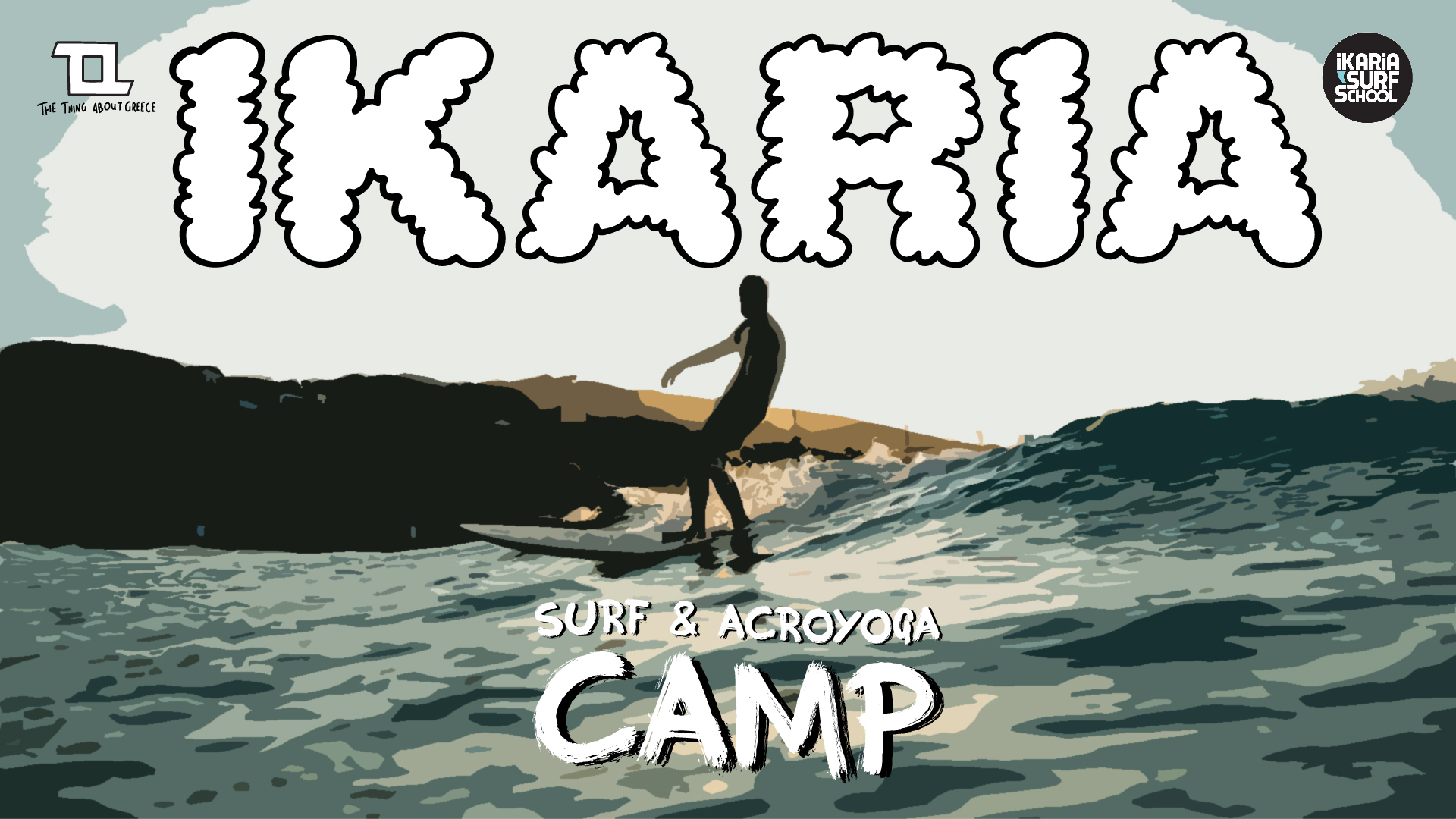IKARIA SURF & ACROYOGA CAMP