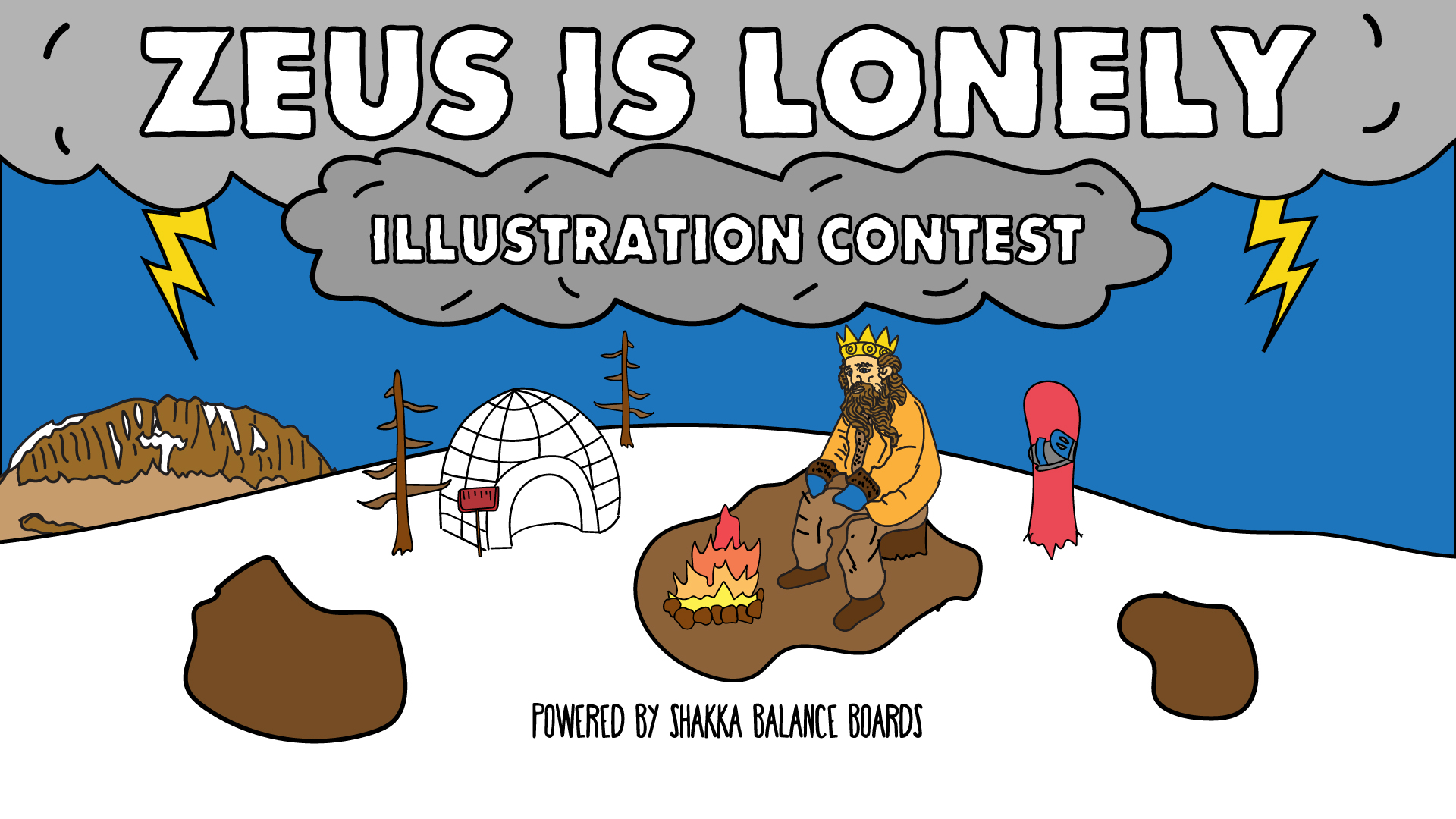 The Thing About Greece Illustration Contest